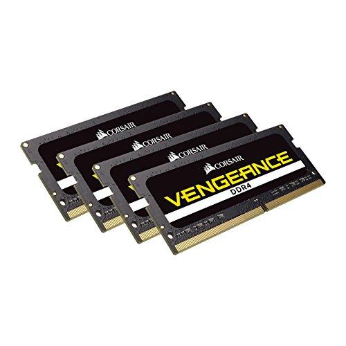 (CORSAIR VENGEANCE SODIMM 64GB (4x16GB) DDR4 2666 C18 Laptop Memory Kit)