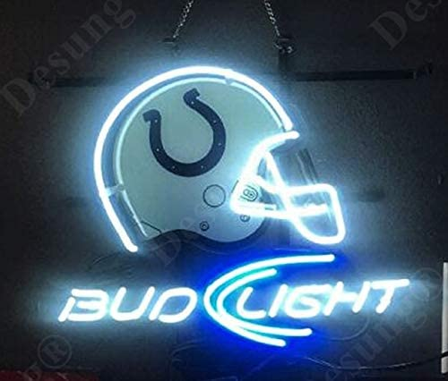 COLTS Here Display Shop LED NEON Light Sign