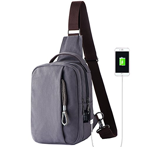 Bags Chest Casual Canvas Shoulder Backpack Man Outdoor Fashion Bag Bag Bag Single Messenger D E wqIrq1