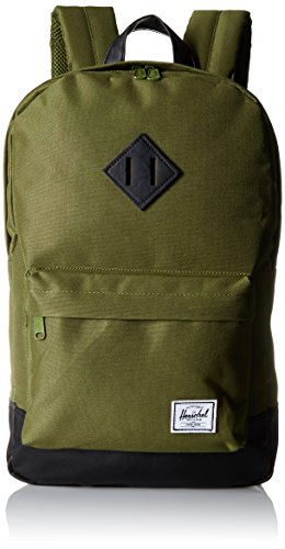 Herschel Supply Co. Heritage Mid-Volume Backpack, Army/Black, One Size