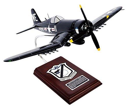 AF4U4MTS F4U-4 Black Sheep Squadron USMC Black Sheep Corsair 1/26 scale model Toys and Models, Inc. [parallel (Usmc F4u Corsair)