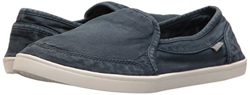 Sanuk Women's Pair O Dice Flat, Navy, 8 M US by Sanuk (Image #6)