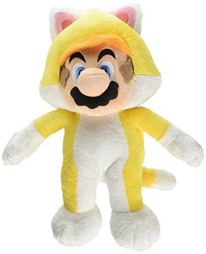 Little Buddy Super 1375 Neko Cat Mario Large Stuffed Plush, 12