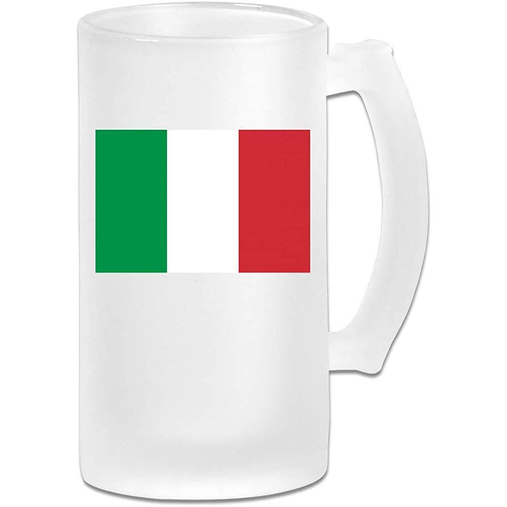 Bandera italiana DIY Imprimir Vidrio Cerveza Taza de agua Taza ...