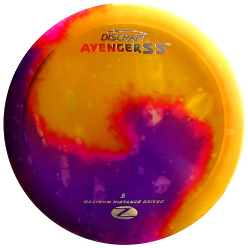 Discraft Avenger SS Elite Z Fly Dye Golf Disc, 173-174 ()