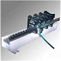 UltraLinx 66 Block 25 Pair Ground Bar