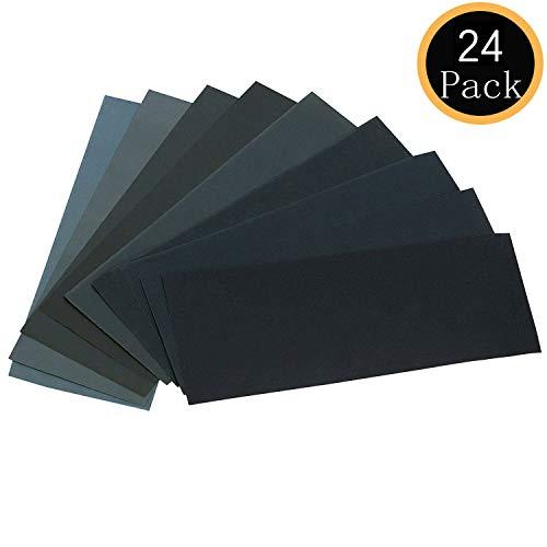 24PCS Sand Paper Variety