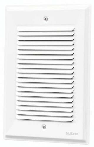 NuTone LA14WH Decorative Wired Paintable Two-Note Door Chime, White ...