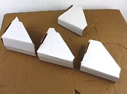 10 X Cardboard Packaging Corners For Photo Framing And Mirror Protection Other Art Supplies Crafts