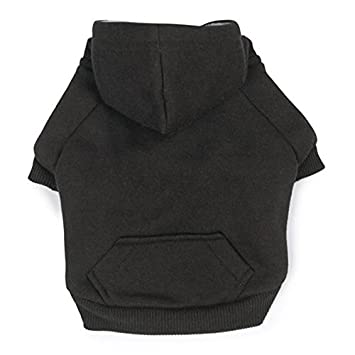 Amazon.com : Zack & Zoey Fleece-Lined Hoodie for Dogs, 14