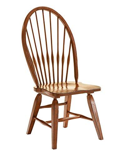 Broyhill 5399-85 Attic Rustic Oak Windsor Dining Side ()