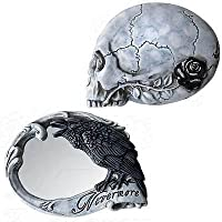 Nevermore Compact Mirror by Alchemy