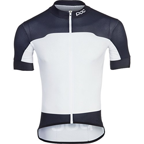 POC Raceday Climber Jersey - Short-Sleeve - Men's Navy Black/Hydrogen White, XL from POC