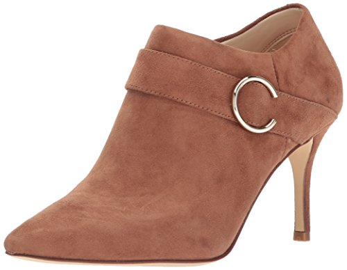 Nine West Women's MEGAERA Ankle Boot, Dark Natural Suede, 12 Medium - West Booties Nine