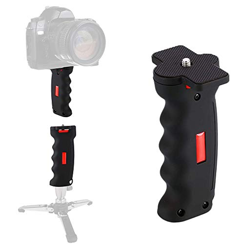 Poyinco Wide Platform Pistol Grip Camera Handle Camera Stabilizers with 1/4