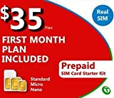 Lycamobile SIM Card 3 in 1 $35 plan 1 month