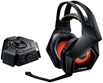 Amazon.com: ASUS Strix 7.1 Gaming Headset con tarjeta de ...