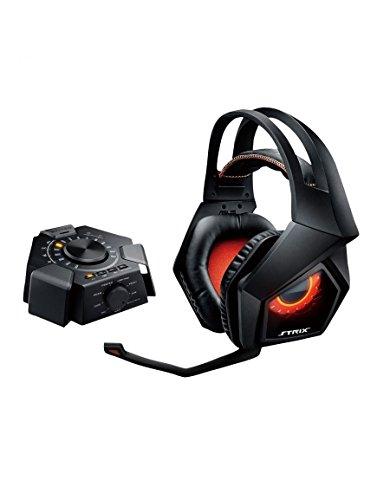 45 opinioni per Asus Strix 7.1 Cuffie Gaming, Audio Station USB, Microfono Removibile, Effetti