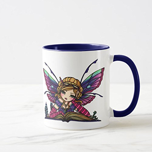 Zazzle Bookworm Fairy Library Fantasy Art By Hannah Lynn Tra