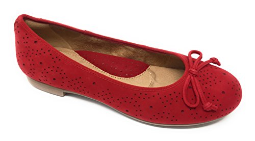 Allegro Flat Earth Red Ballet Womens Fqz4wH5