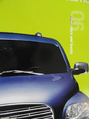 2006 Chevrolet Chevy Corvette / Impala / Monte Carlo / Malibu / Cobalt / Aveo / Silverado / Colorado / Avalanche / Suburban / Tahoe / Trailblazer / Equinox / Uplander Sales Brochure