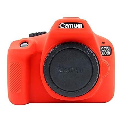 PULUZ - Carcasa para Canon EOS 3000D y 4000D (Silicona): Amazon.es ...
