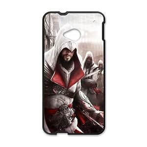 Ezio Assassins Creed Ii Game HTC One M7 Cell Phone Case Black Exquisite designs Phone Case KM5829J1