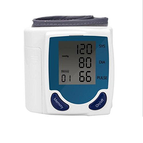 wei-d Blood Pressure Monitor Wrist Blood Pressure Monitor, Portable for Home Use , as picture