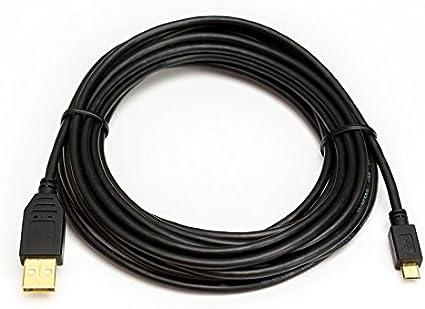 vergoldet Datenkabel Länge 2m USB Kabel für Canon EOS M200 Digitalkamera