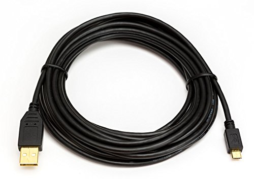 USB Kabel für Canon Powershot SX720 HS Digitalkamera | Datenkabel | vergoldet | Länge 5m