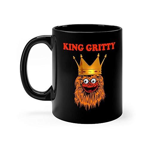 King gritty 2019 Mug 11oz Coffee Mug 11oz Ceramic Tea Cups 11 Ounce Coffee Mug Perfect Novelty Gift Mug Funny Gift Mug For Men, Women, Him, Her ()