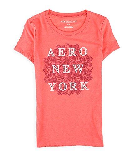 Aeropostale Womens Stacked New York Graphic T-Shirt 864 S - Juniors