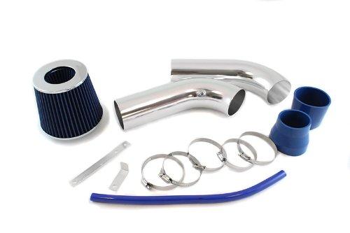 Filter 02-08 for Dodge Ram 1500 3.7L V6 1500//2500//3500 5.7L HEMI V8 ST Racing Blue Short Ram Air Intake Kit