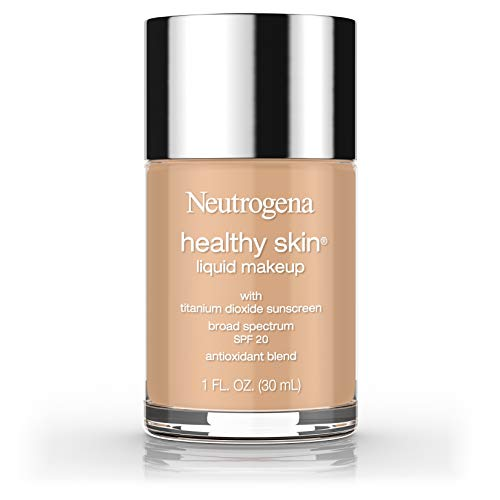 Neutrogena Healthy Skin Liquid Makeup Foundation, Broad Spectrum Spf 20, 115 Cocoa, 1 Oz. (Pack of 2)