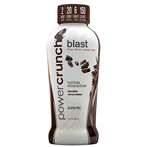 Bioengineered Nutrition Research Group Power Crunch Ready to Drink, Double Chocolate, 12 0z.-12 Count