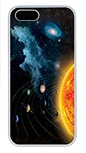 IPhone 5/5S Case Solar System PC Hard Plastic Case for iPhone 5/5S Whtie