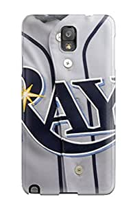 Galaxy Note 3 Tampa Bay Rays Print High Quality Tpu Gel Frame Case Cover