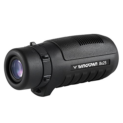 Wingspan Optics HawkEye 8X25 Wide View Compact Monocular Del