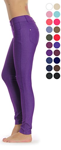 275bad7001102 Prolific Health Women s Jean Look Jeggings Tights Yoga Many Colors Spandex  Leggings Pants S-XXL