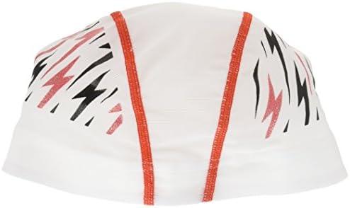 MIZUNO(ミズノ) スイムキャップ 競泳 水泳帽 メッシュキャップ N2JW7508 ホワイト L