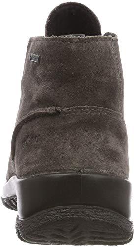 Mujer Softboot de Smoke Legero Zapatos para Gris Cordones 23 Halb Derby 0xnSqRdT
