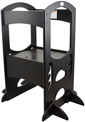 Wondrous Little Partners Learning Tower Kids Step Stool Adjustable Short Links Chair Design For Home Short Linksinfo