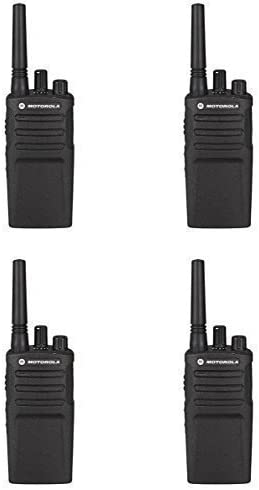 4 Pack of Motorola RMU2080 Business Two-Way Radio 2 Watts 8 Channels Military Spec VOX