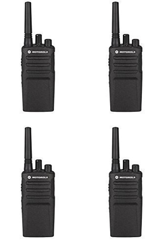 4 Pack of Motorola RMU2080 Business Two-Way Radio 2 Watts/8 Channels Military Spec VOX by Motorola