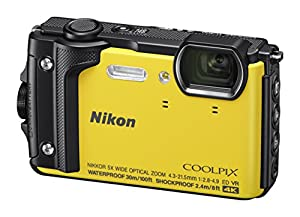 Nikon W300 Waterproof Underwater Digital Camera with 3-Inch TFT LCD, Black by Nikon