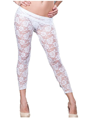Women's Floral Lace Leggings