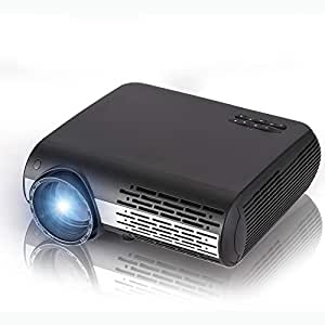 HD Video Proyector Home Theater proyector LED 4500 lúmenes ...
