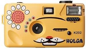 Powershovel Holga K202 Orange Nya-Nya Cat 35mm Camera Superheadz