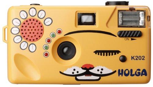 Powershovel Holga K202 Orange NYA-NYA Cat 35mm Camera Superheadz Holga Superheadz 1028