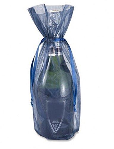 Amazon.com: 10pc Botella y vino Organza favor bolsas de ...